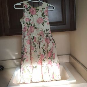 stained girls dress